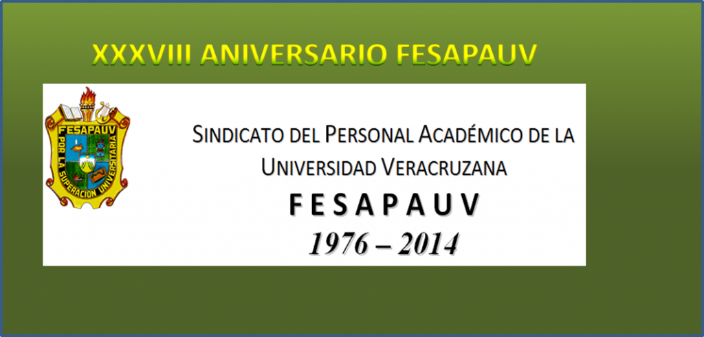 XXXVIII ANIVERSARIO FESAPAUV